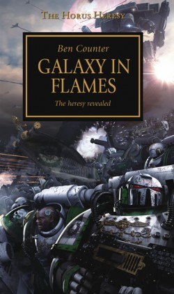 Galaxy in Flames Cover